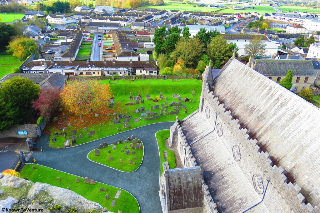 Kilkinney Ireland from the top of St. Canice's Cathedral www.knowntoventure.com Jessie Bender