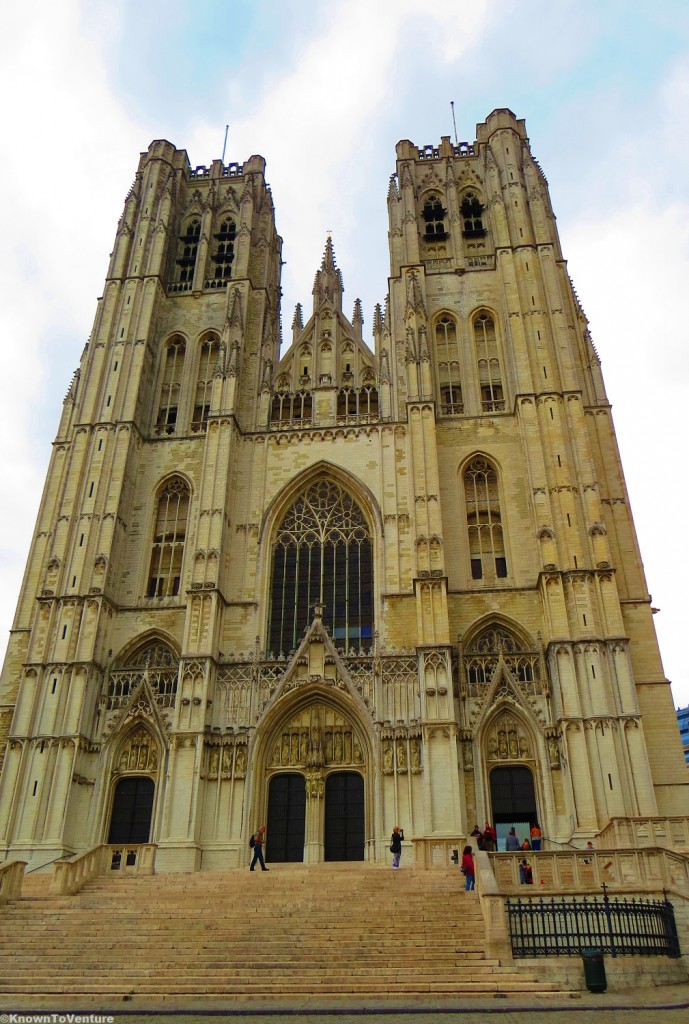 Cathedral of St. Michael and St. Gudula, Brussels, Belgium www.knowntoventure.com