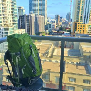 Backpacker's pack www.knowntoventure.com
