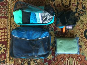 Backpacker's packing cubes www.knowntoventure.com