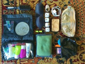Backpacker's travel accessories www.knowntoventure,com packing list