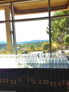 Beautiful view from Callaway Vineyards and Winery, Temecula, CA www.knowntoventure.com