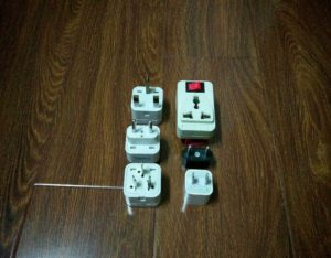 Gotta have the right adapters and converters on the road. www.knowntoventure.com
