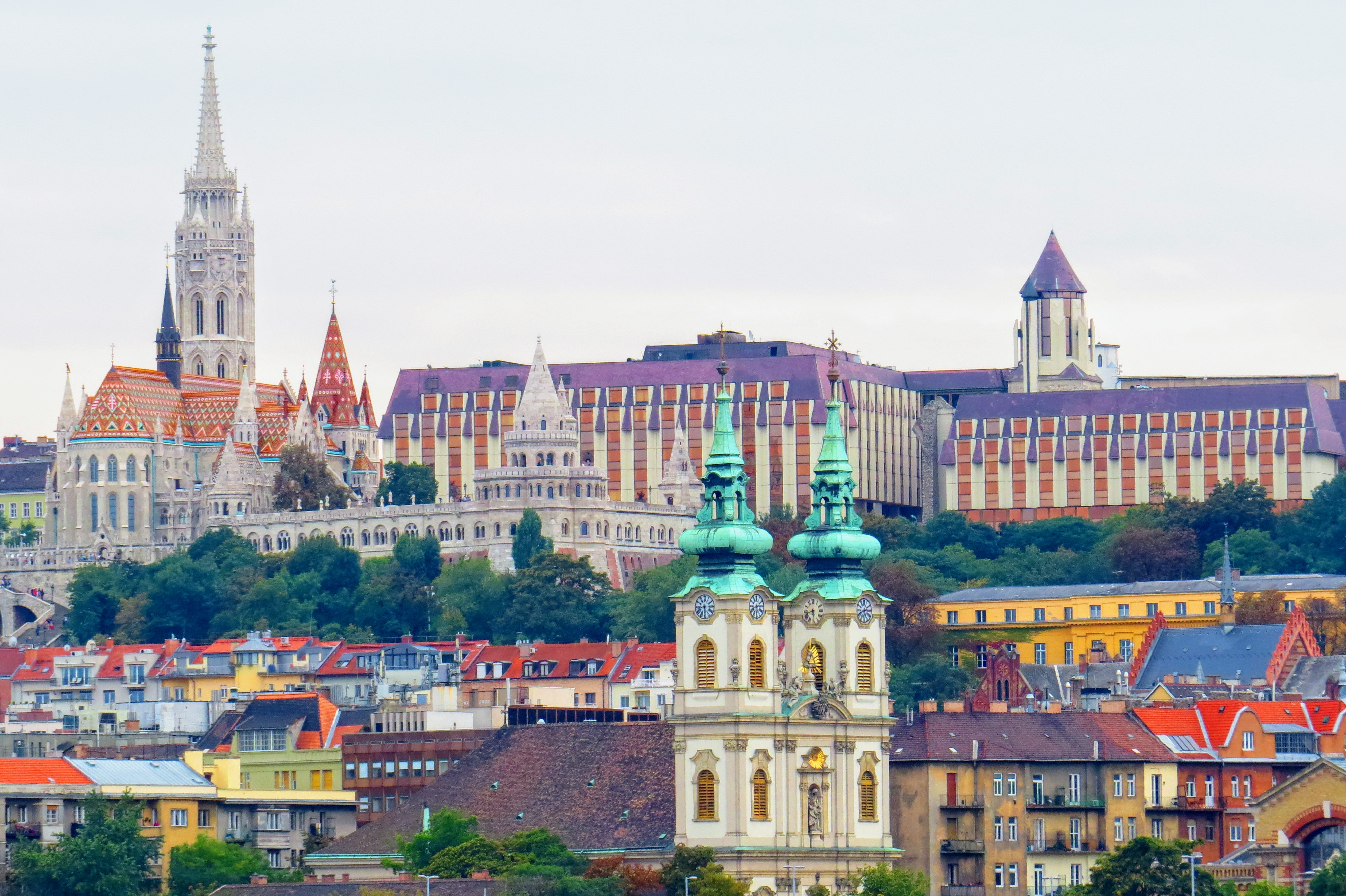 The Buda side of Budapest, Hungary. Backpacking Europe www.knowntoventure.com