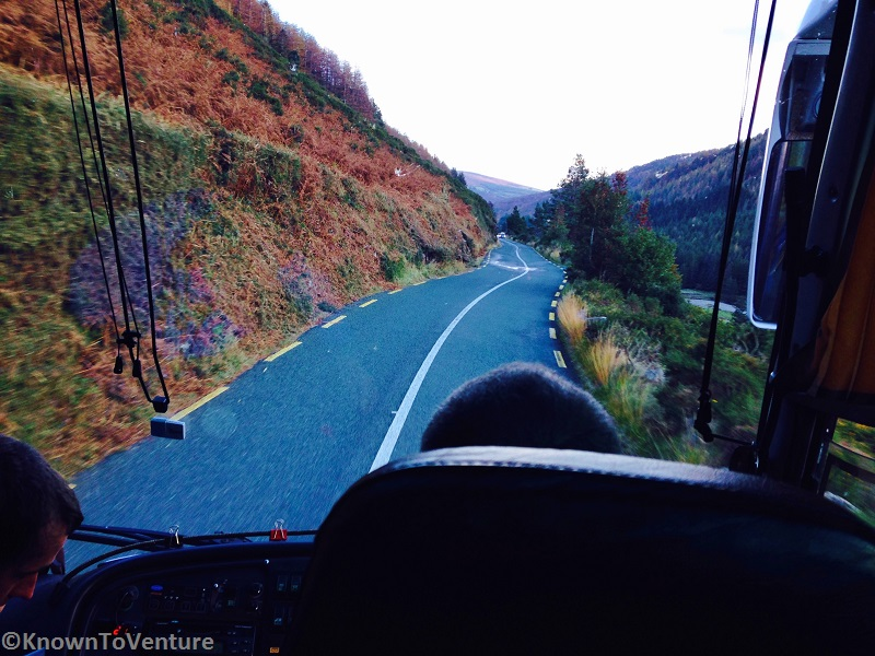 Driving through the Wicklow Mountains, Ireland Photo by Jessie Bender of www.KnownToVenture.com