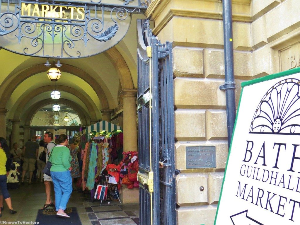 Bath Guildhall Market, Bath, England www.knowntoventure.com