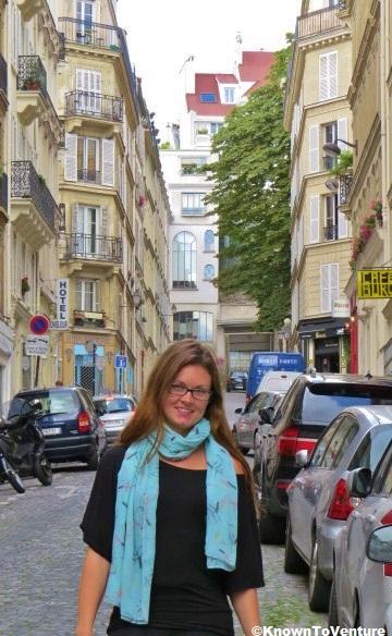 Jessie Bender Montmarte Paris, France www.knowntoventure.com