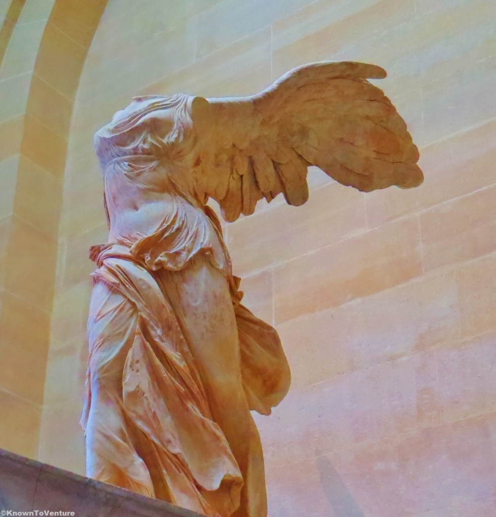 Winged Victory of Samothrace, Louvre Museum, Paris, France www.knowntoventure.com