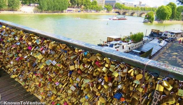Love Lock Bridge Paris, France www.knowntoventure.com