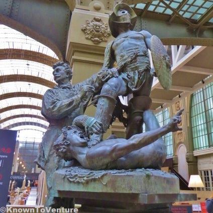Monument to Gerome statue in Musee d'Orsay, Paris, France www.knowntoventure.com