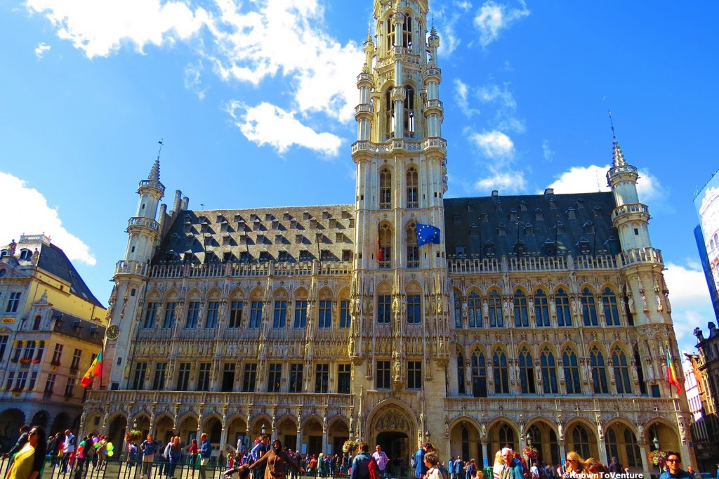Brussels Town Hall, Brussels, Belgium www.knowntoventure.com