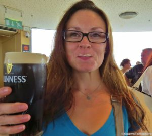 Guinness Storehouse - a pint fresh from the tap Jessie Bender www.knowntoventure.com Ireland
