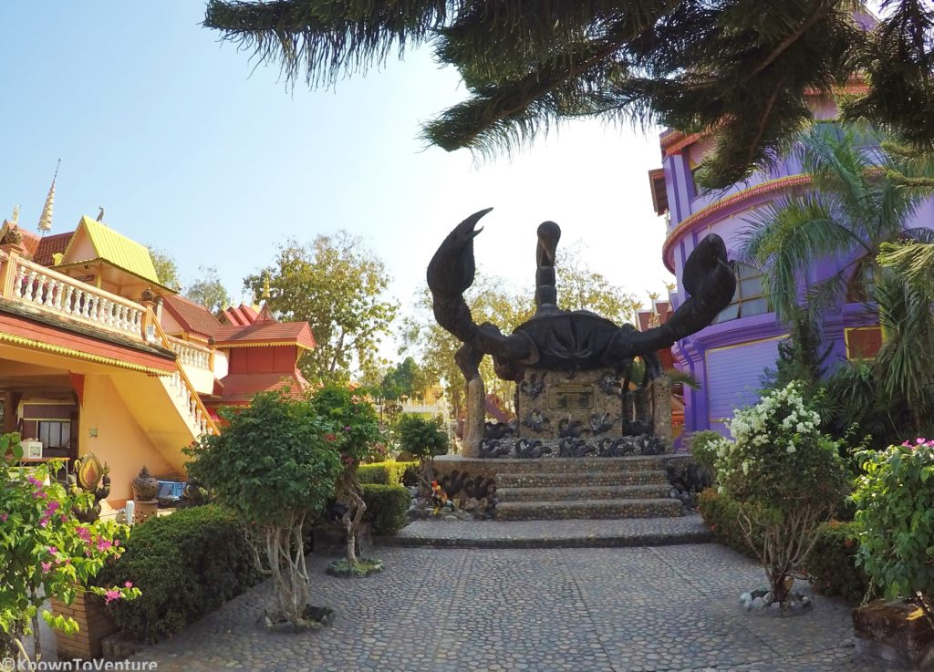 Wat Phra That Wai Dao or Scorpion Temple in Mae Sai Chiang Rai Thailand www.knowntoventure.com