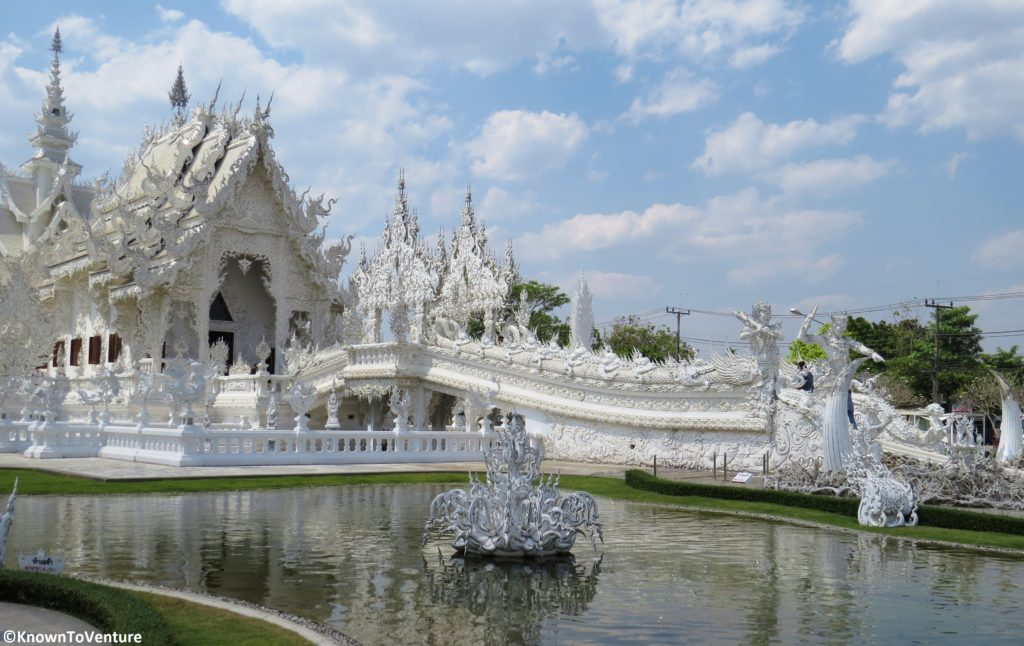 Wat Rong Khun - White Temple, Chiang Rai www.knowntoventure.com